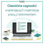 Okładka checklista organizacji